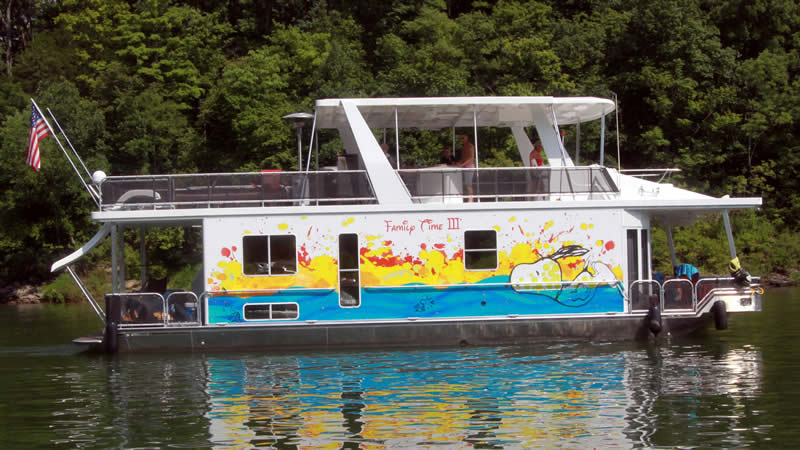 Houseboats Boat Wraps Liquid Graffiti Of Murfreesboro